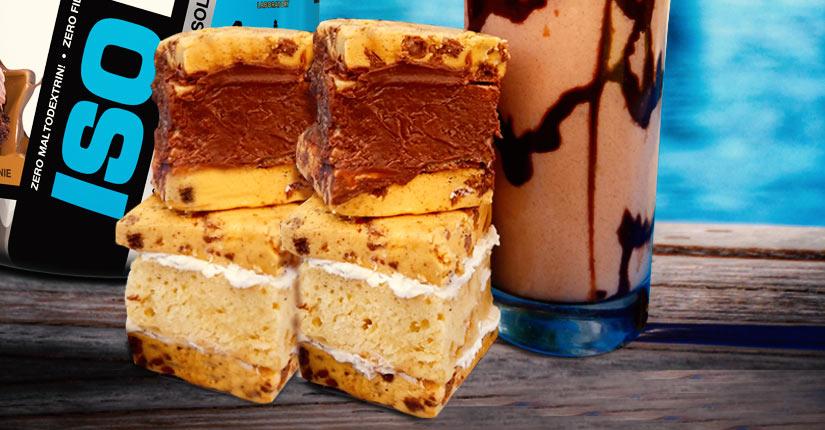 S'Mores Protein Bar Sandwich