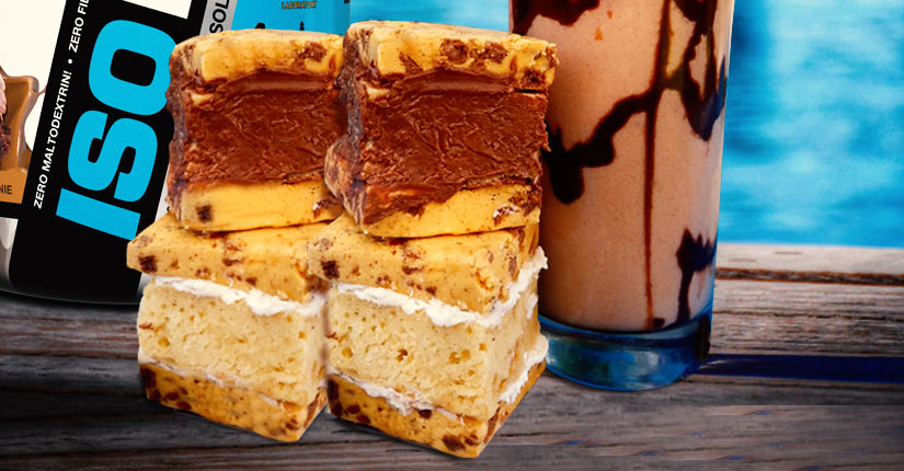 Cookies & Cream Protein Bar Sandwich