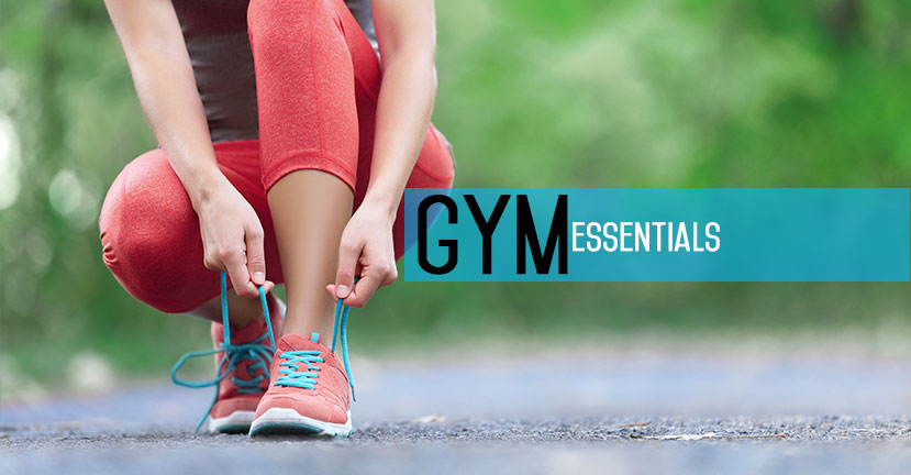 gym essentials: comfortable shoes